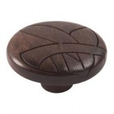 Wooden Engraved Knob 421WE